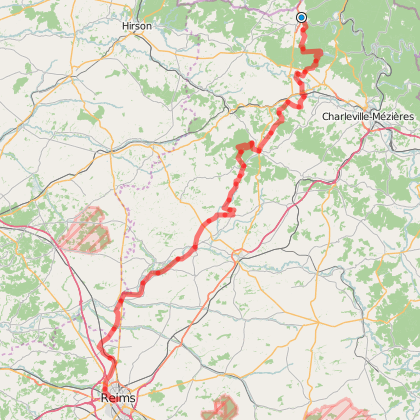 GR-654 : Grande Etape en Ardennes : de Rocroi à REIMS