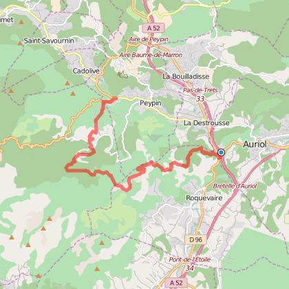 Sur les pas du GR2013 : de Pont-de-Joux à Valdonne