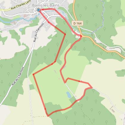 Circuit 4 : La Bourguignotte et Le Million - 7 km