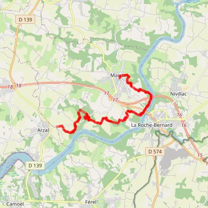 Marzan: Circuit Chemin des Ducs (officiel)