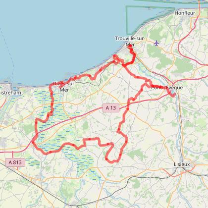Le tour du Pays D'Auge à vélo