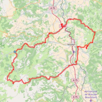 Moto Tour : Les plateaux du Cézallier