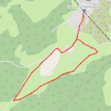 Doubs Rando' - Le sentier du berger des vaches - Vaux et Chantegrue
