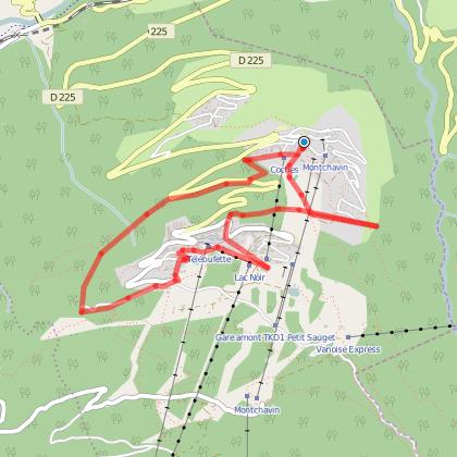 Itinéraire de randonnée : Le Sentier Nature