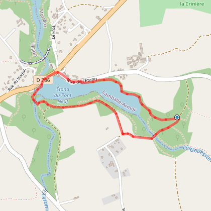 Coëtmieux, Morieux - Autour de l'étang des Ponts-Neufs