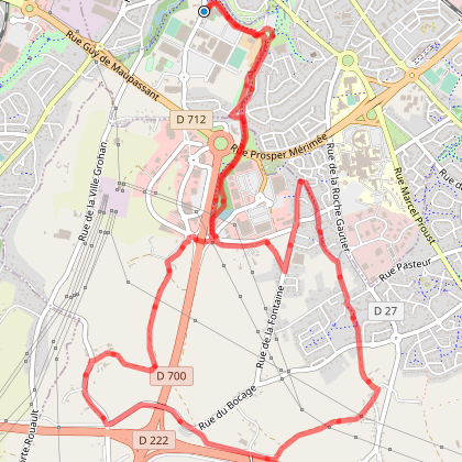 Circuit VTT N° 7 - Trégueux - Vert-
