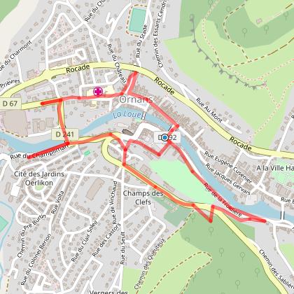 Les sentiers de Courbet - Parcours de vie - Ornans