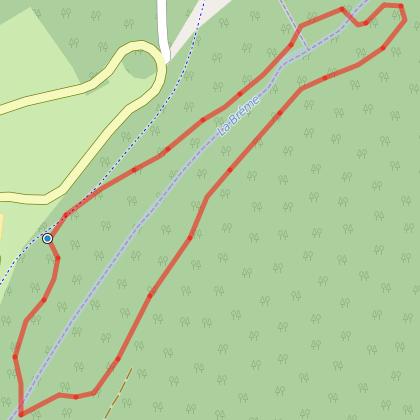 Les sentiers de Courbet - Parcours du ravin du puits noir - Ornans