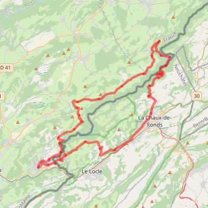 Doubs Cyclo' - Le saut du Doubs - Villers le Lac