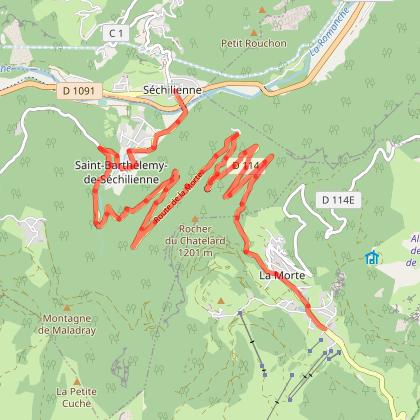 """""""Spécial vélo de route"""" les 1000 m du Col de La Morte"""