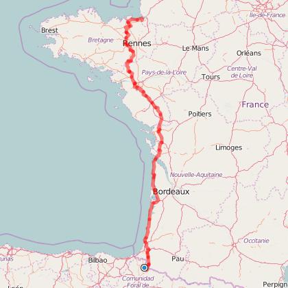 traversée des Pyrénées au Mont Saint Michel à dos de chevaux kabardes