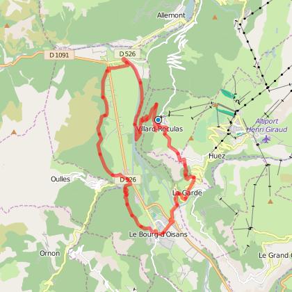Rando trail - n°5 Bleu - La montée de l'Alpe