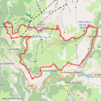 Rando trail - n°8 Red - Tour des Monts