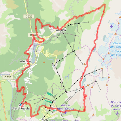 Rando trail - n°9 Noir - Le col Blanc