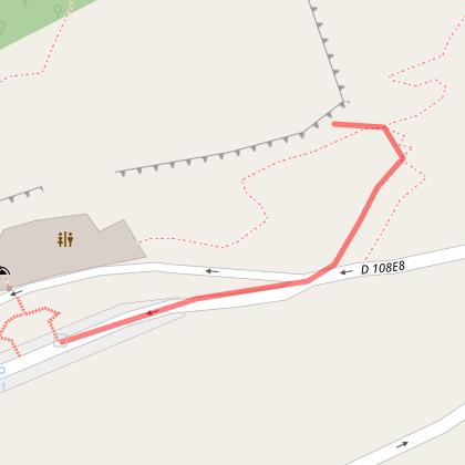 Marche d'approche - Site d'escalade Grotte des Demoiselles