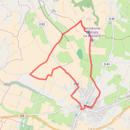 CIRCUIT N°10 - COEX - agréée Vendée Vélo