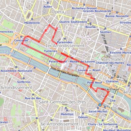 Balade les places royales du XVIIème siècle (Dauphine, Vendôme, Victoires)