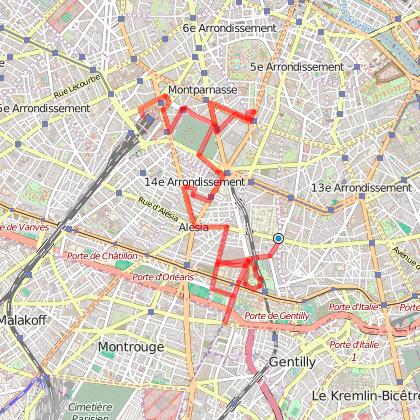 Balade dans le 14e arrondissement