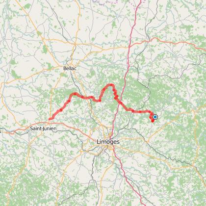 Vélo route Haute-Vienne