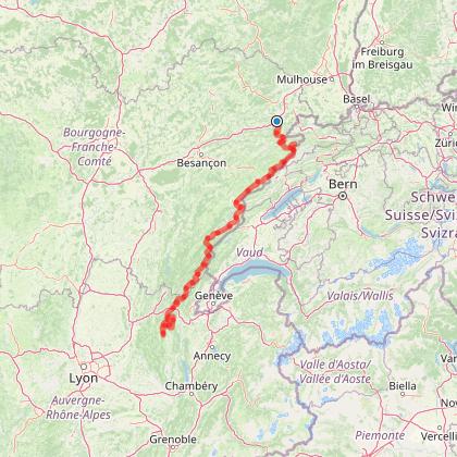 Doubs' VTT - La Grande Traversée du Jura