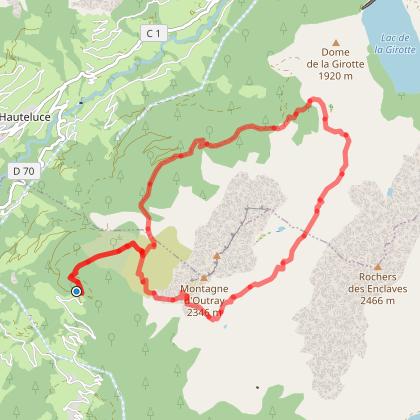 Arêches / Beaufort / Hauteluce - La Montagne d'Outray