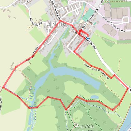 Circuit du parc de la Deule