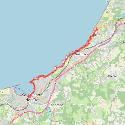 Le sentier littoral de Bidart à Saint-Jean-de-Luz