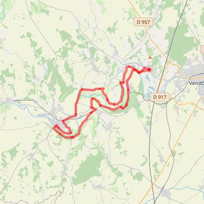 Circuit velo Vallée du Loir