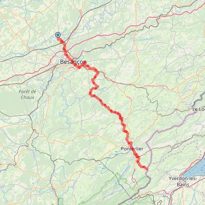 Doubs Rando' - La via Francigena - Cussey-sur-l'Ognon - Les Fourgs