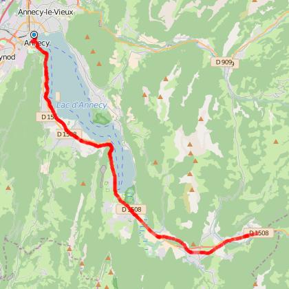 Promenade du Lac d'Annecy