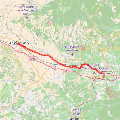 Toulouse - Narbonne Etape 3