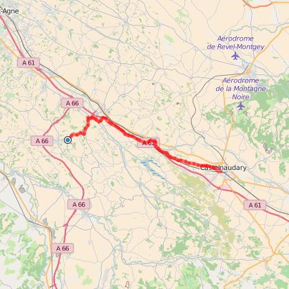 Toulouse - Narbonne Etape 2