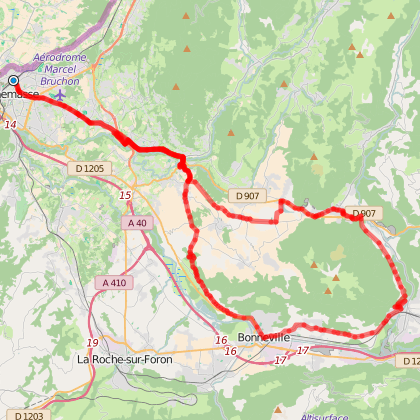 Tour du Môle (long) depuis Annemasse