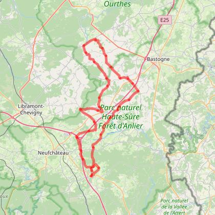 De Léglise vers la vallée du Laval