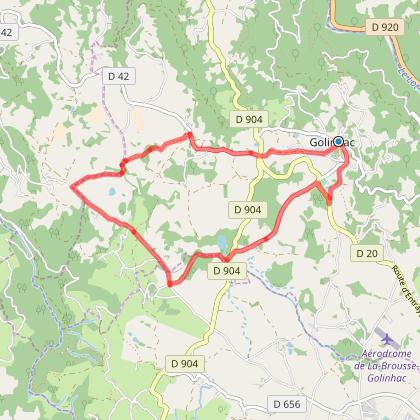 Circuit à pied n°16 au départ de Golinhac