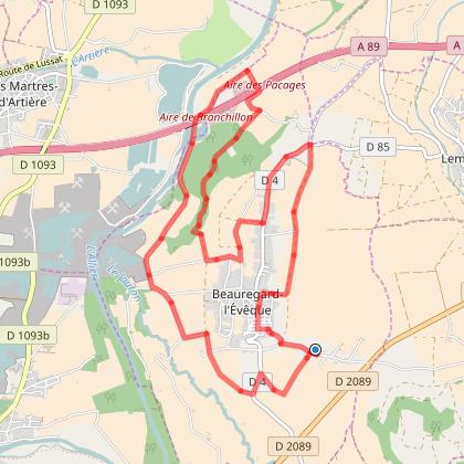 Tour de Beauregard L'Eveque