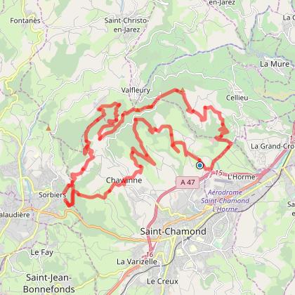 Tour de Croix Blanche St Chamond