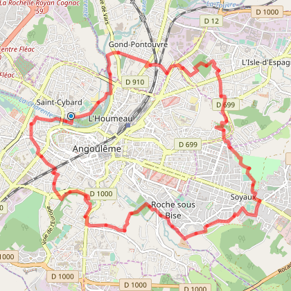 Angoulême Périph Vert