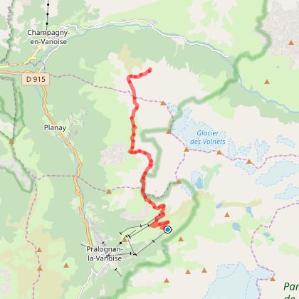 Tour de la Grande Casse - Départ Tignes - Jour 3 - Refuge Barmettes -> Plan des Gouilles