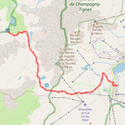 Tour de la Grande Casse - Départ Tignes - Jour 5 - Refuge Entre le Lac -> Tignes