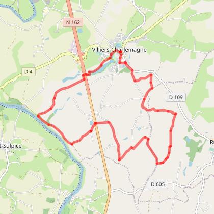 Circuit Est de Villiers-Charlemagne