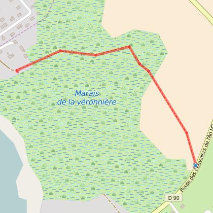 Chemin des Marais de la Véronnière et du Courbon