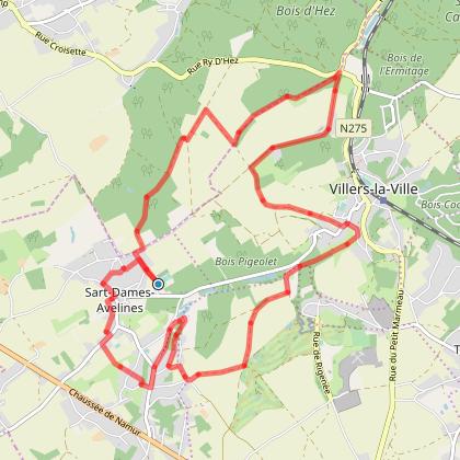 Villers-la-Ville : La campagne villersoise à VTT (Circuit VerTT)