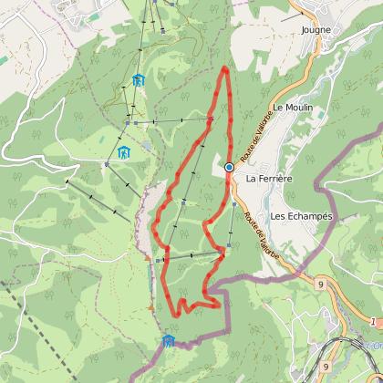 Doubs Rando' - Sous les falaises du mont d'Or - Les Tavins