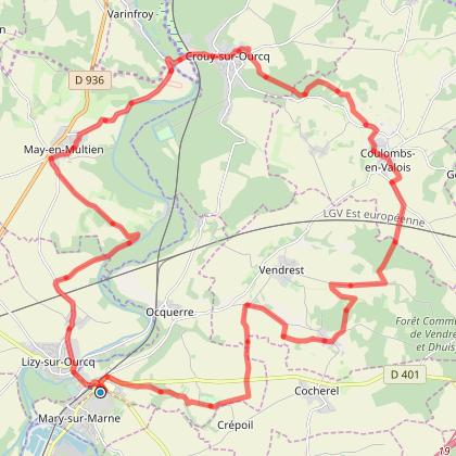 Spot VTT : La vallée de l'Ourcq