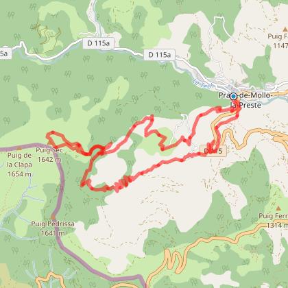 Tour de MIr et montée au Puig Sec