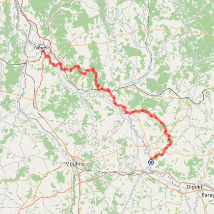 étape 4 : de Saint-Aubin-sur-Loire à Nevers
