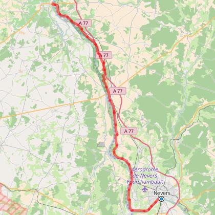 étape 5 : De Nevers à Saint-THibaud