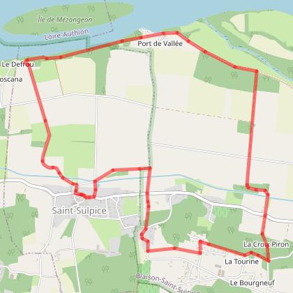 Circuit de l'Ambroise Blaison-St Sulpice