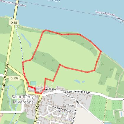 Sentier d'interprétation de la Grande Ile - Saint-Rémy-la-Varenne